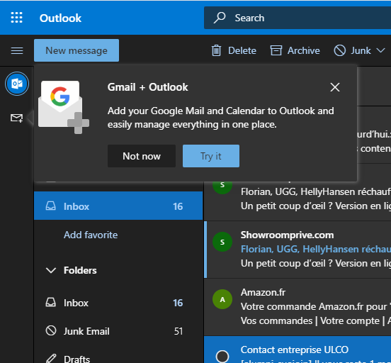 Microsoft to integrate Google's services into Outlook.com