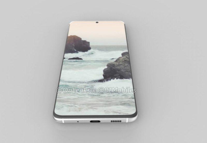 Samsung Galaxy S11 bezel
