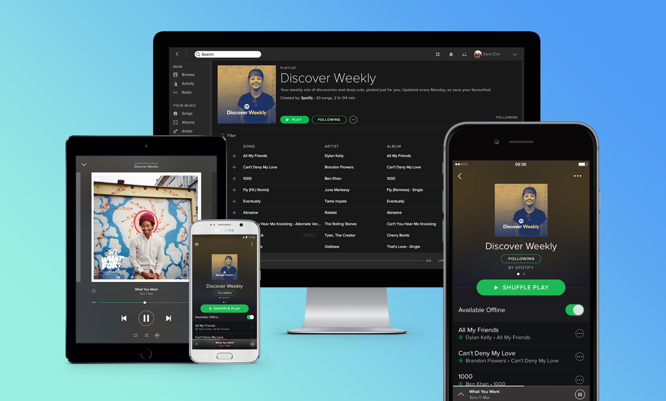 Big news: Spotify Free users can now stream music on Alexa, Sonos, and Bose speakers 1