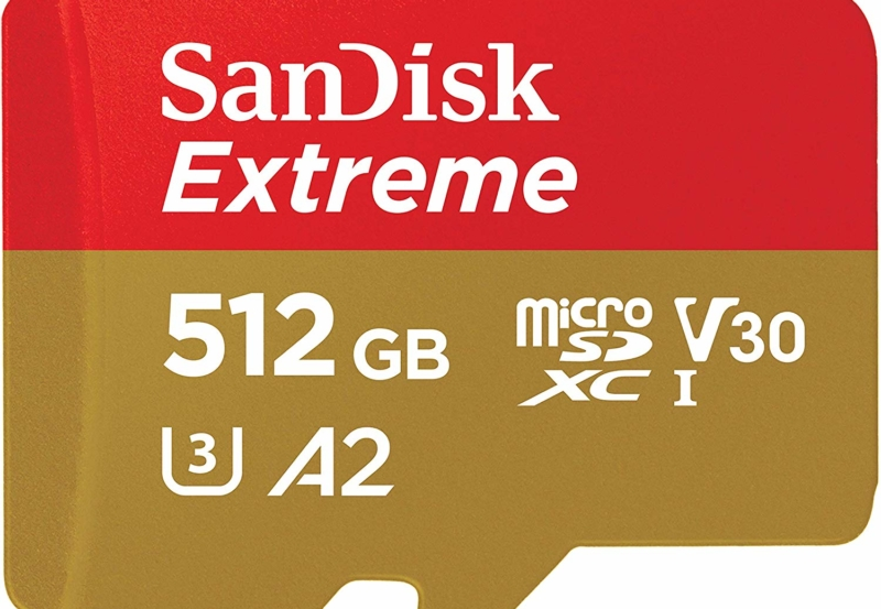 Deal Alert: SanDisk Extreme 512GB A2 microSD card is down to its lowest price ever at Amazon 3