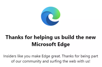 new Edge logo