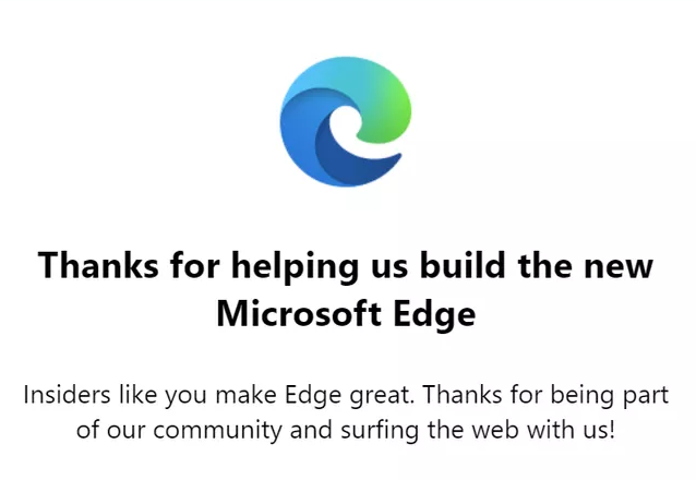 Microsoft Edge browser gets a brand new logo