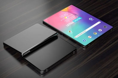 Samsung may be working on a clamshell foldable tablet 6