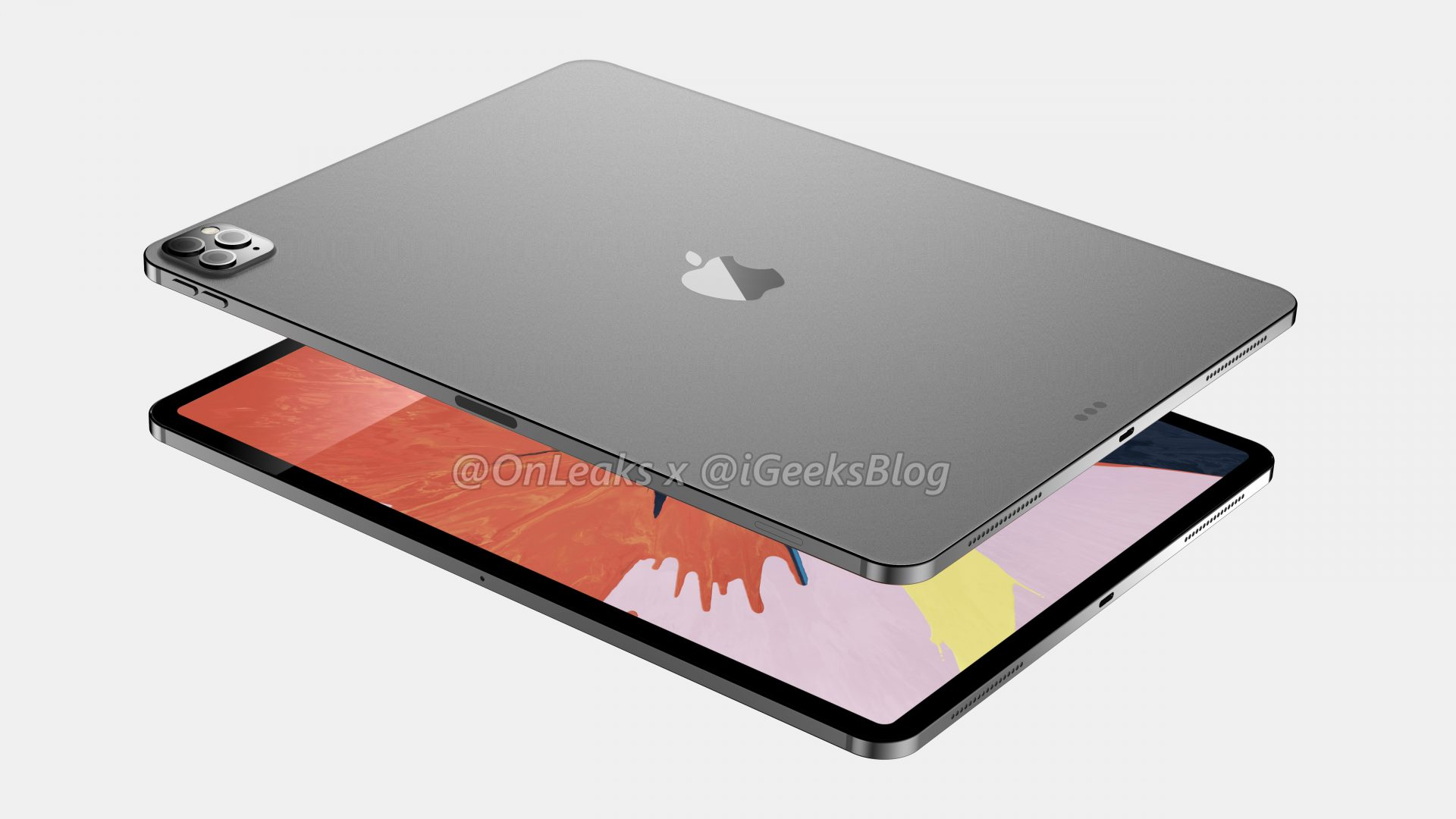 Renders and video of the 2020 iPad Pro leak online 11