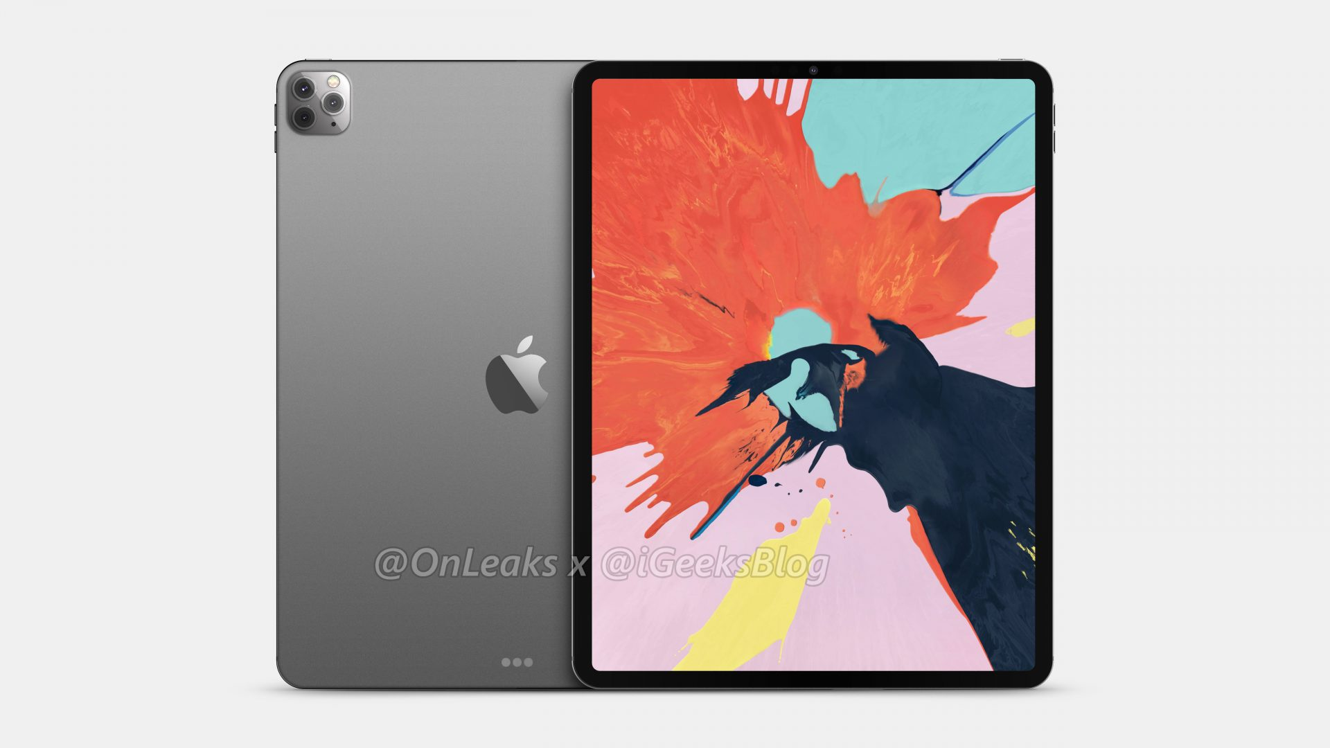 Renders and video of the 2020 iPad Pro leak online 12
