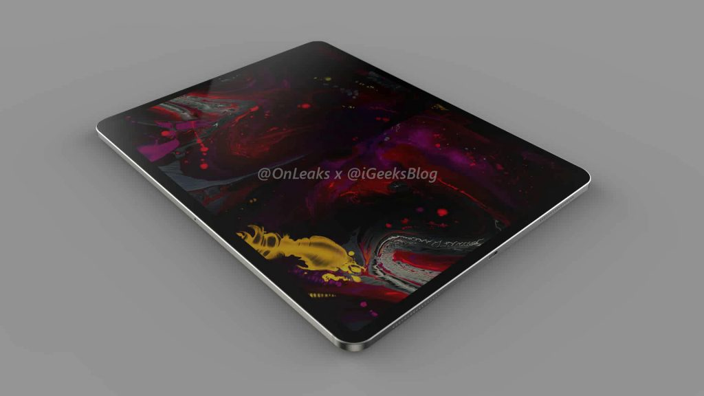 Renders and video of the 2020 iPad Pro leak online 14