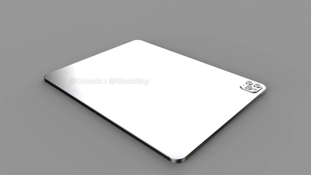Renders and video of the 2020 iPad Pro leak online 19