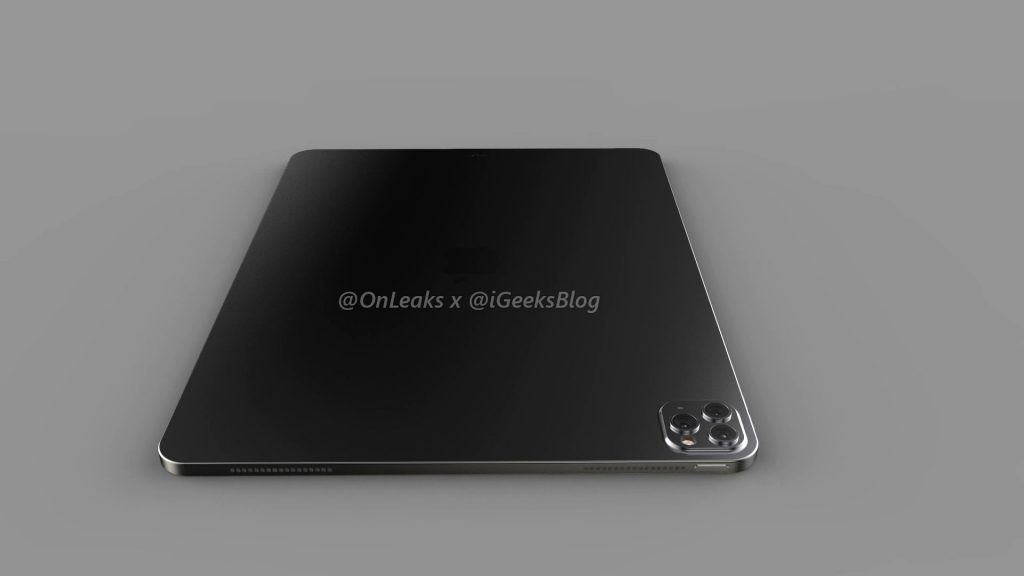 Renders and video of the 2020 iPad Pro leak online 21