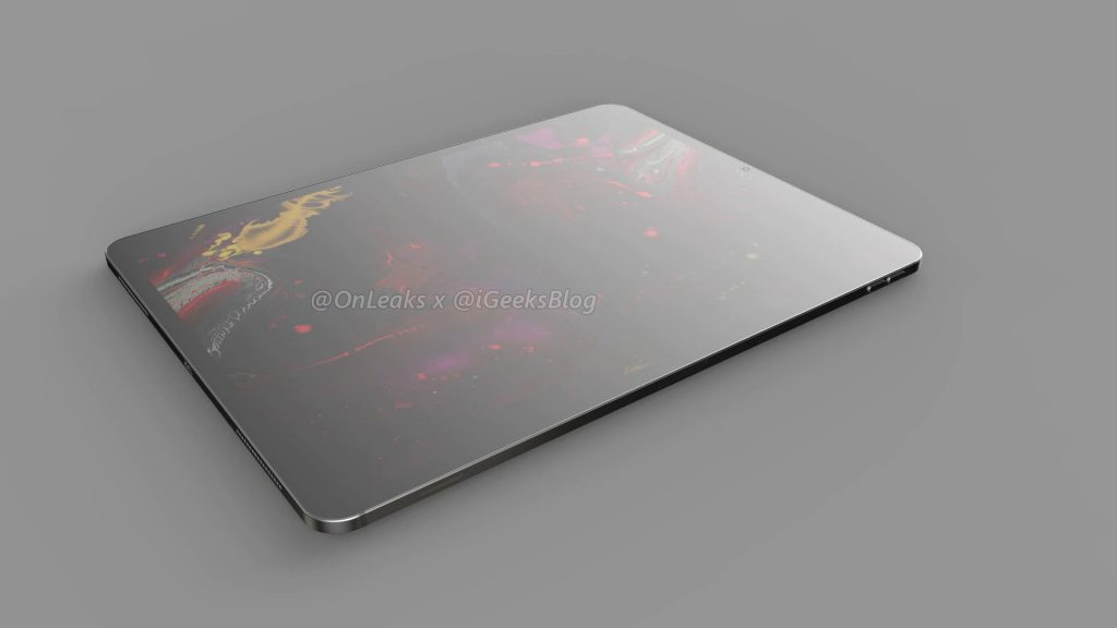 Renders and video of the 2020 iPad Pro leak online 15