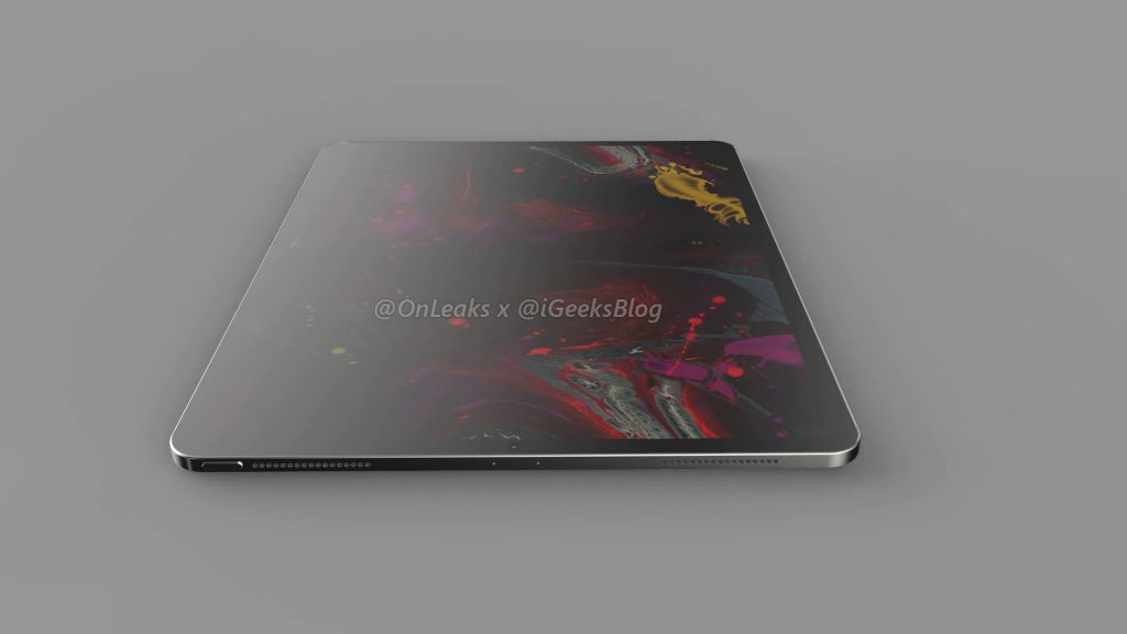 Renders and video of the 2020 iPad Pro leak online 16