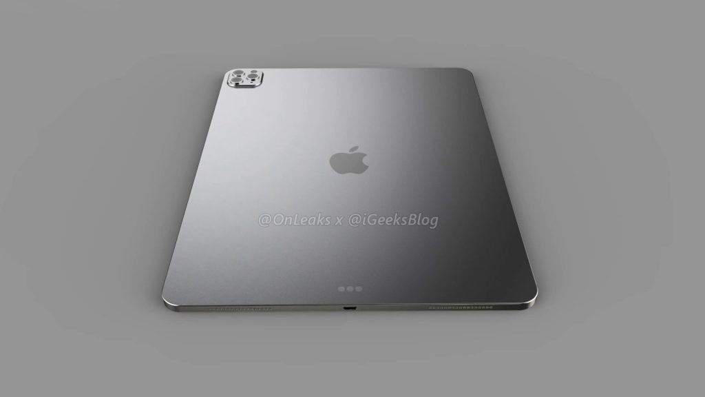 Renders and video of the 2020 iPad Pro leak online 17