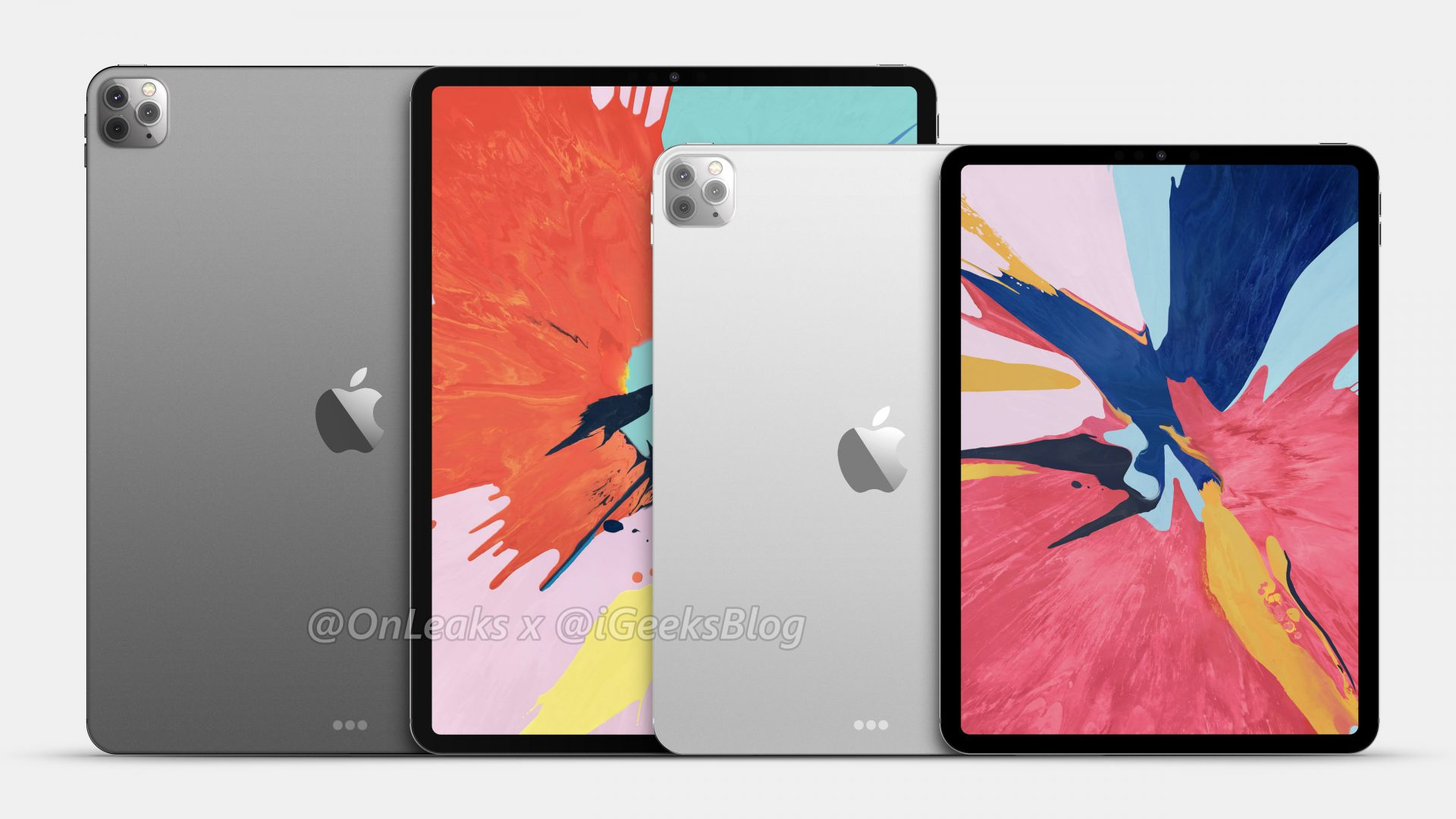 Renders and video of the 2020 iPad Pro leak online 1