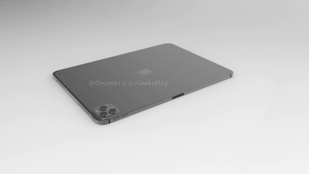 Renders and video of the 2020 iPad Pro leak online 9