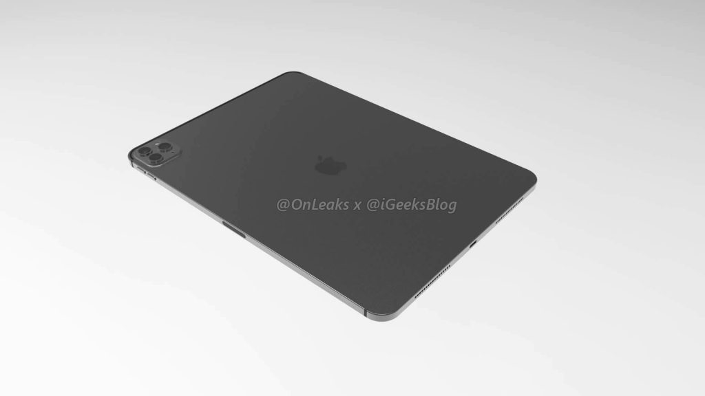Renders and video of the 2020 iPad Pro leak online 8