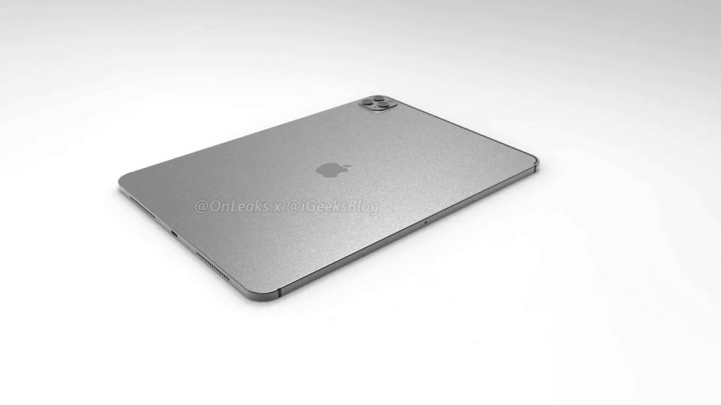 Renders and video of the 2020 iPad Pro leak online 7