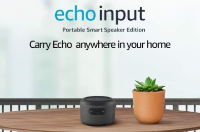 Amazon announces new Echo Input smart speaker with built-in battery 2