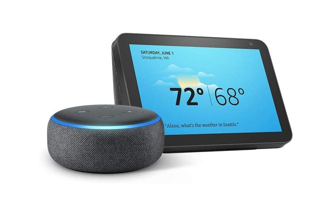 Doorbuster Deal Amazon Echo Show 8 With Echo Dot Speaker For Just 79 99 Mspoweruser