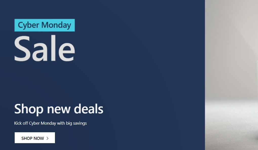 Check out these amazing Cyber Monday deals on Microsoft Store 1