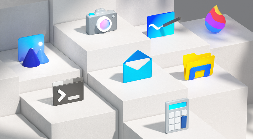 Microsoft talks about redesigning over a 100 product icons based on Fluent Design System 3