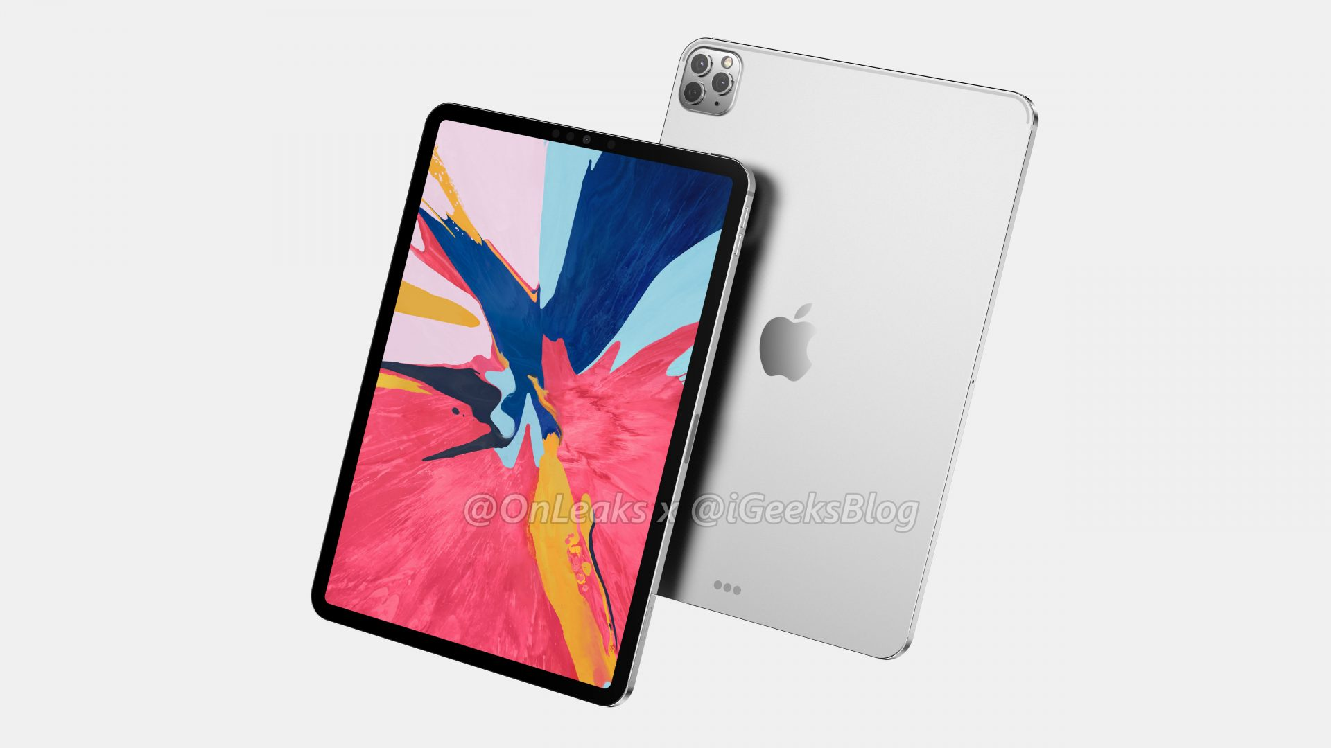 Renders and video of the 2020 iPad Pro leak online 2