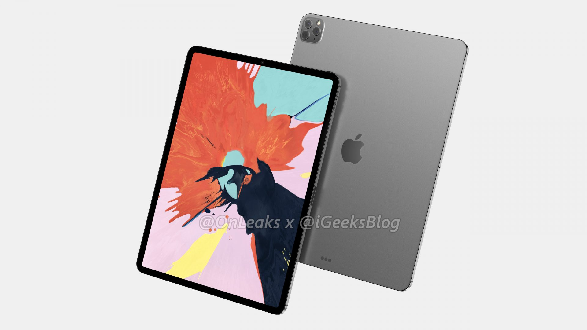 Renders and video of the 2020 iPad Pro leak online 13