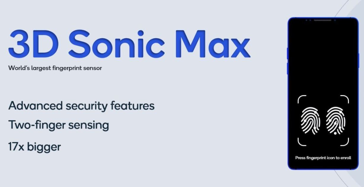 3D Sonic Max - Qualcomm's New Fingerprint Technology is more secure