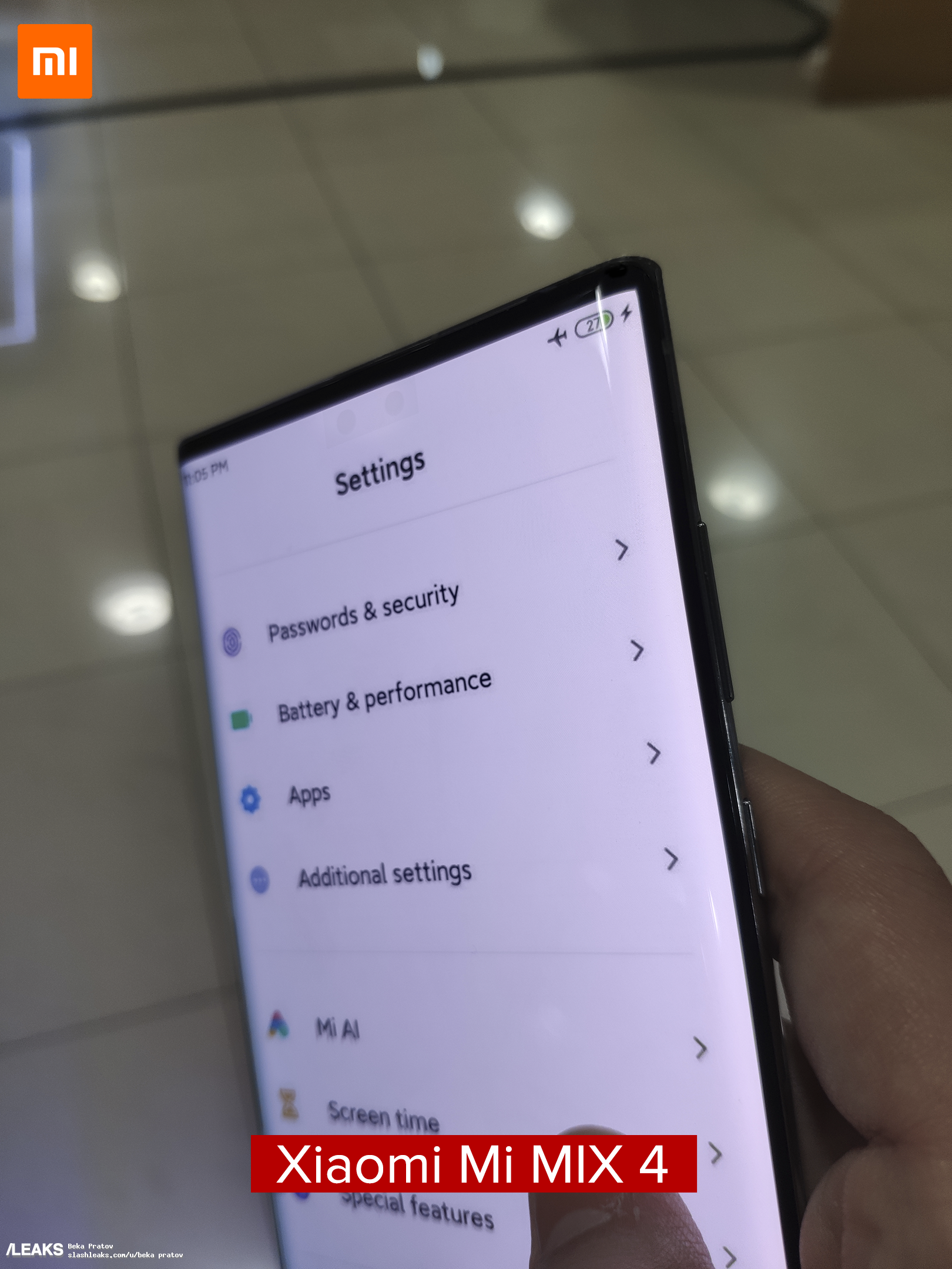 More details about the upcoming Xiaomi Mi MIX 4 leak online 1