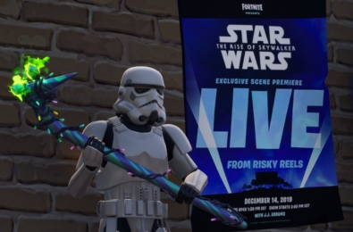 Fortnite to premiere exclusive Star Wars: The Rise of Skywalker scene 3