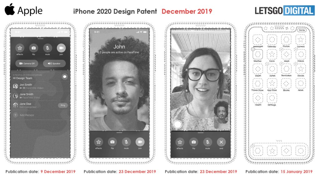 High-end iPhone with in-display Touch ID in 2020