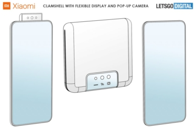Xiaomi patents a clamshell foldable phone with a pop-up camera 4