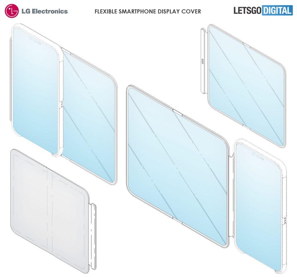 LG patent reveals tablet-sized detachable, flexible dual-screen phone cover