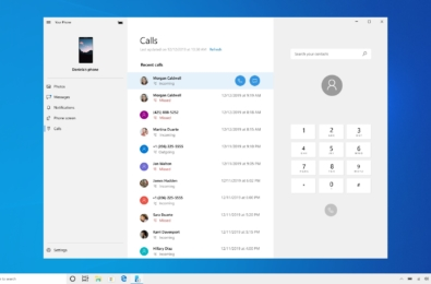Microsoft release Windows 10 20H1 Insider Preview Build 19536 to the Fast Ring with big Your Phone improvements 1