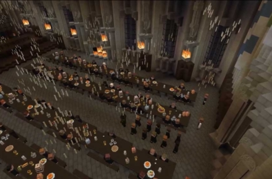 Minecraft mod creates huge in-game Harry Potter RPG 6