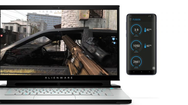 Dell Alienware Second Screen allows gamers to view their real-time PC performance stats on their phone 1