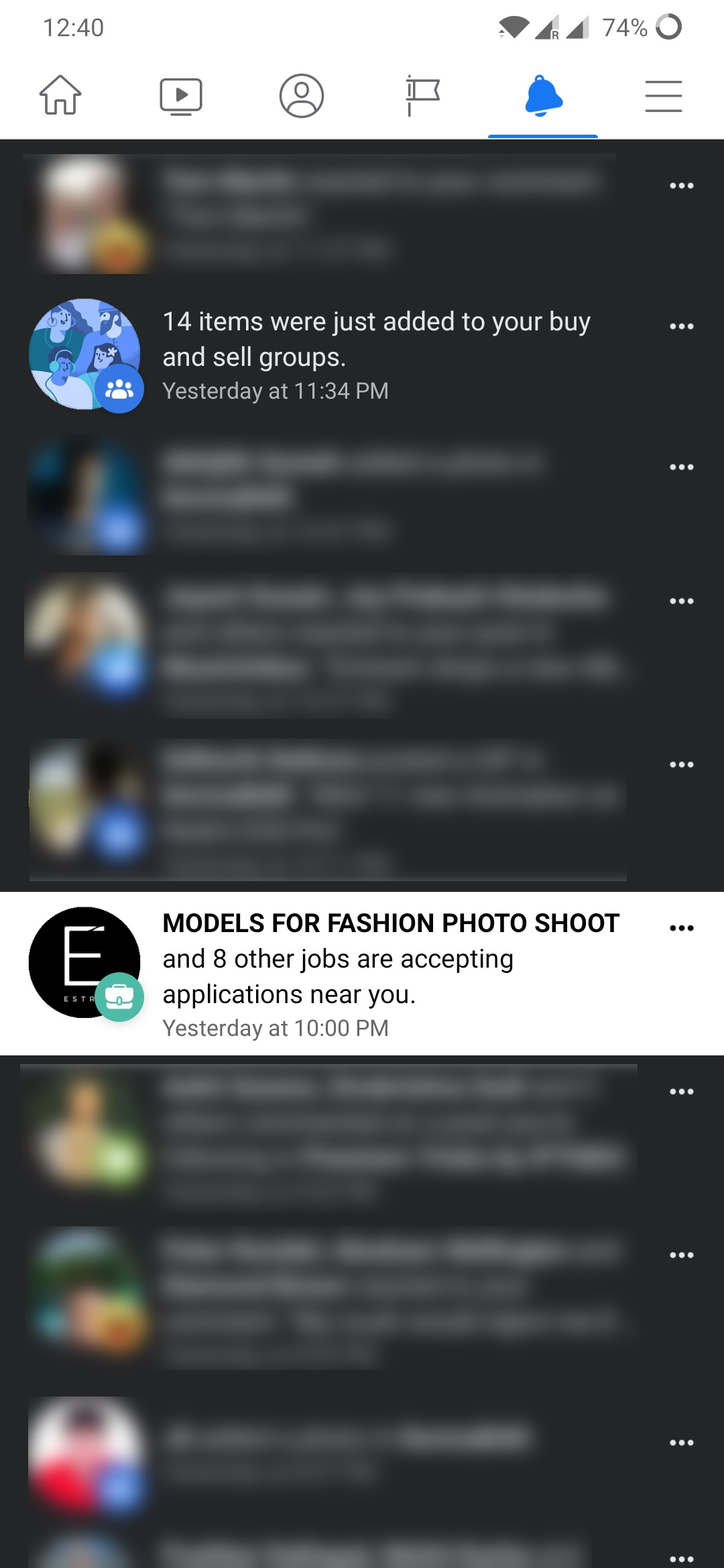 Facebook is trying to implement dark mode to its app but is failing miserably 2