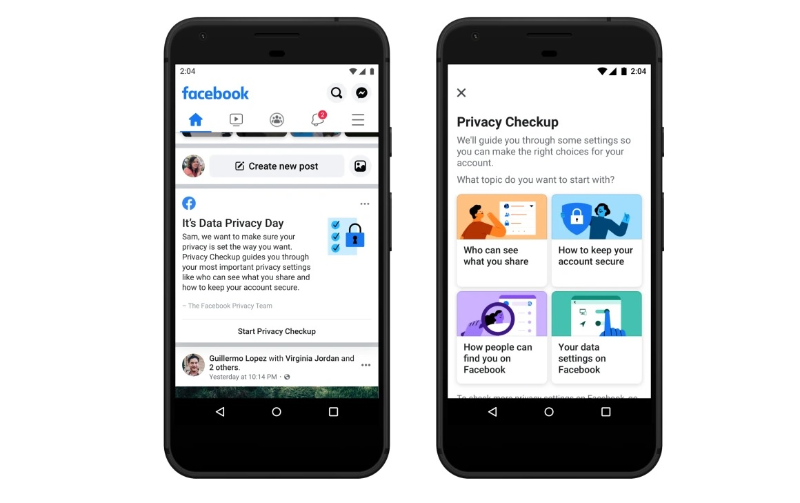 Facebook will prompt 2 billion users to review their privacy settings 1