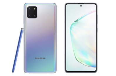 Samsung Galaxy Note10 Lite hands-on video 17