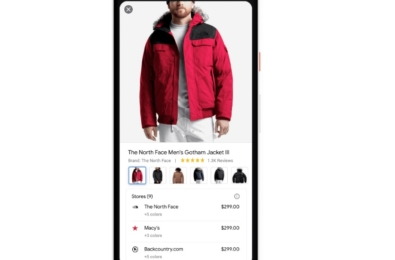 Google makes it easy to search for clothes, shoes and accessories online 11