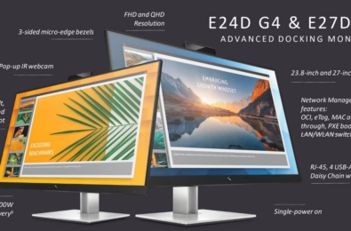 HP's new docking monitors come with pop-up IR webcam and single power-on feature 7