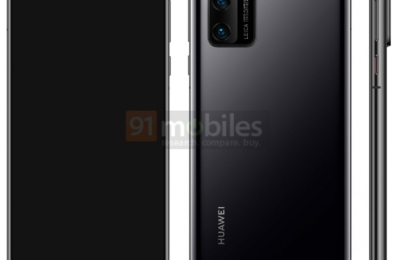 Huawei P40 smartphone to feature a dual punch camera, triple rear camera, suggests leaked render 7
