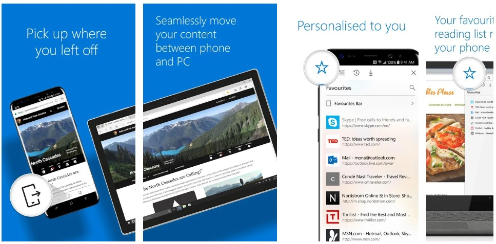 Microsoft Edge for Android receives a server-side update, brings hamburger menu to the new tab page