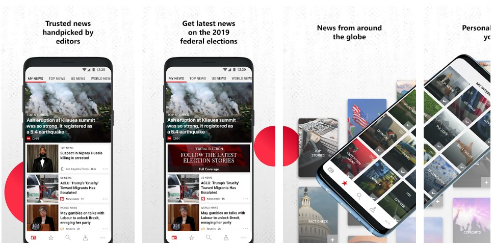 Microsoft News app updated with special coverage for US Election 2020 1