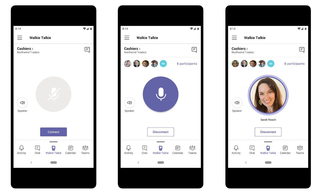 Microsoft Teams gets several new features including Walkie Talkie, SMS sign-in and more 1