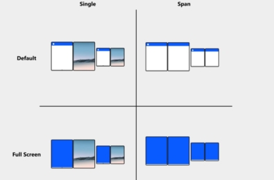 Microsoft explains how to design apps for dual-screen devices 11