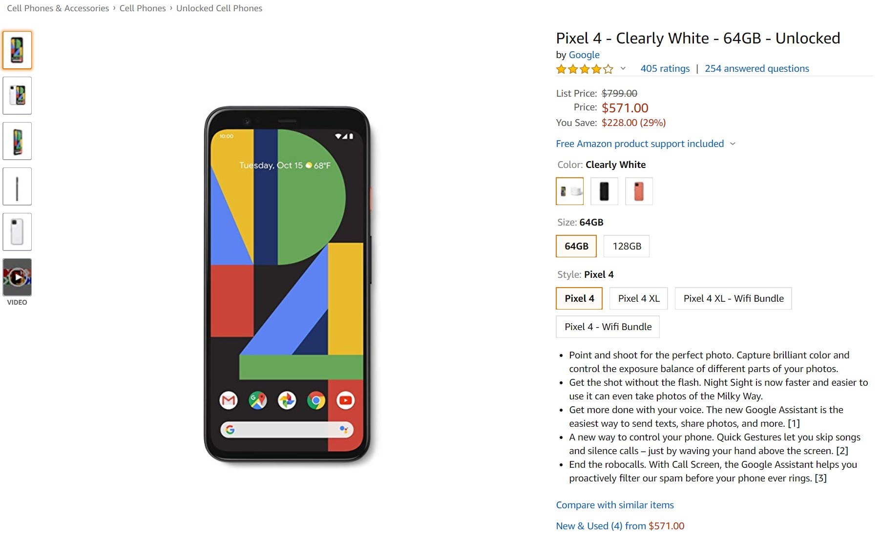 Deal Alert: Pixel 4 and Pixel 4XL are now available at an all-time low price 1