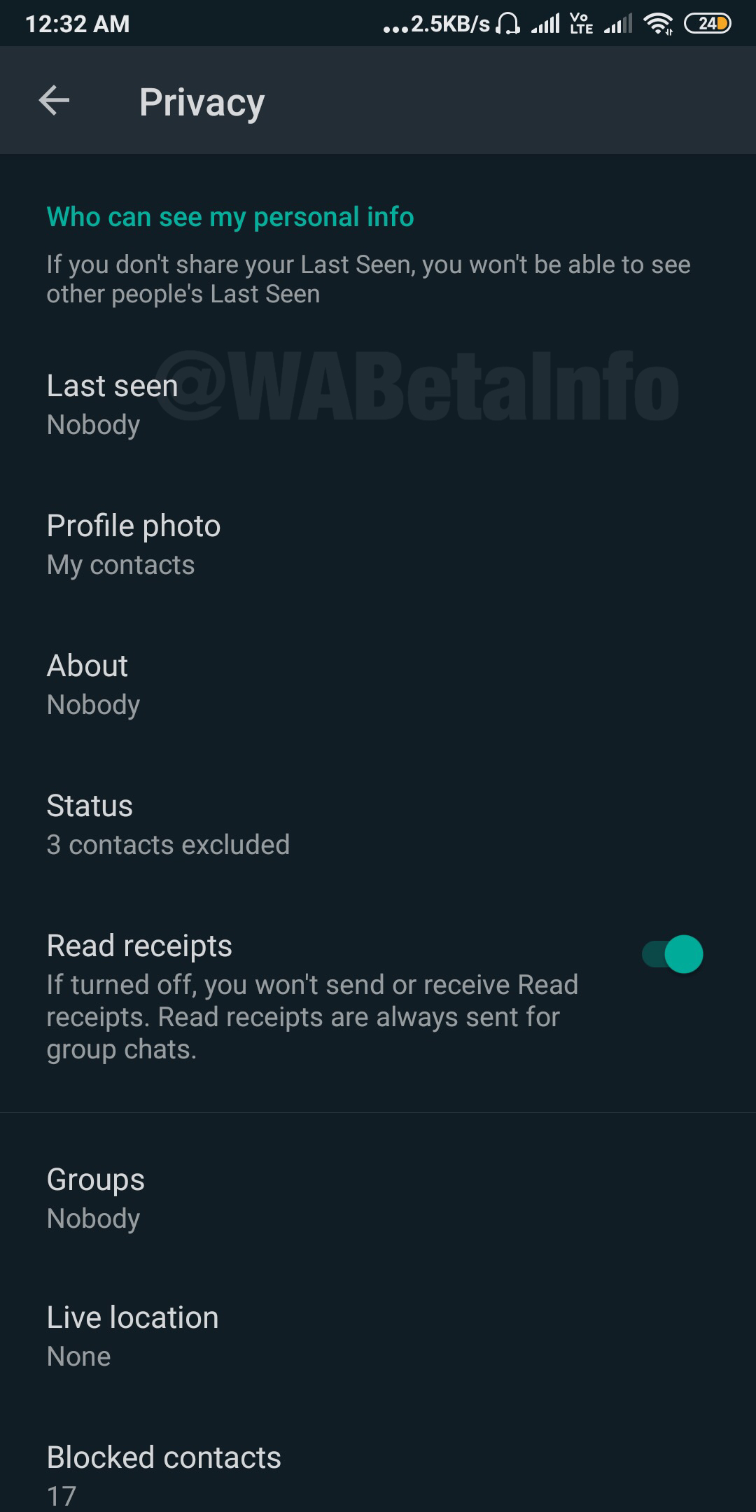 WhatsApp Dark Theme finally available for WhatsApp Beta users on Android 2