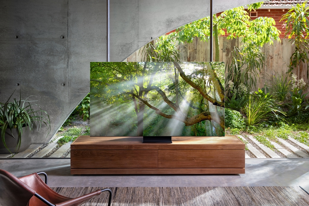Samsung announces the first true 'zero bezel' TV with several groundbreaking features 1