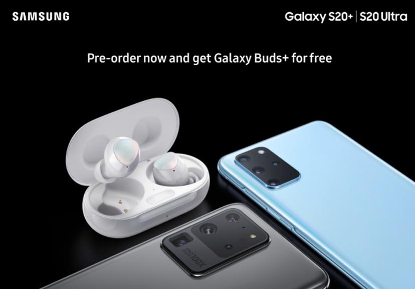 Samsung Galaxy S20 Pre order offer