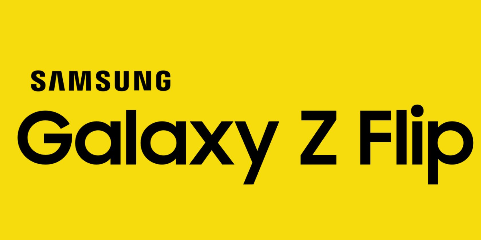 Galaxy Z Flip is the name of Samsung's next folding phone 1
