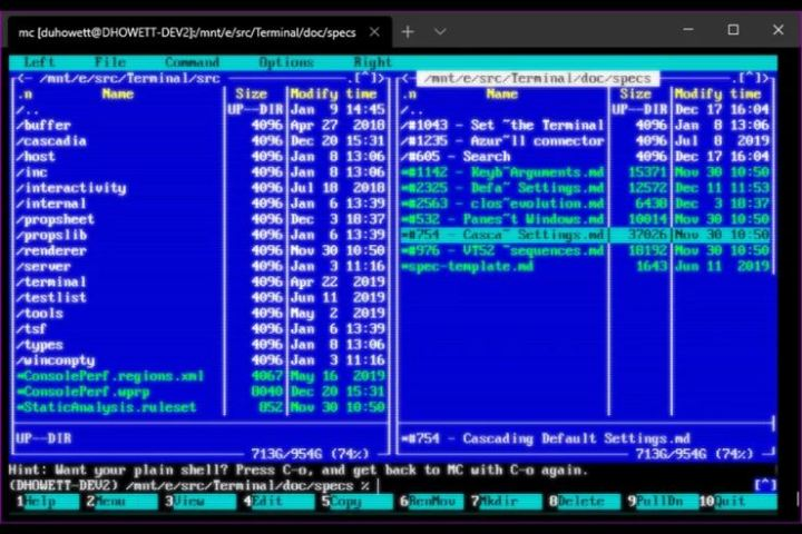 Updated Windows Terminal app with cool retro CRT effects now available 1